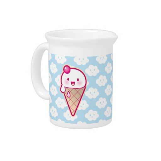 Kawaii Ice Cream Pitcher