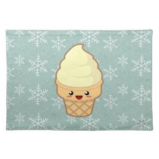 Kawaii Ice Cream Placemat