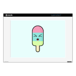 Kawaii Ice cream Skin For Laptop