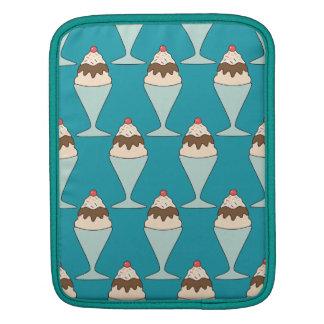 Kawaii ice cream sprinkles sundae dessert sleeve sleeve for iPads