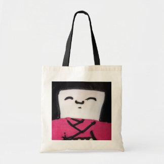 Kawaii inspired doll canvas bag