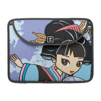 "Kawaii Izumi the Geisha Chibi 13"" MacBook Sleeve"