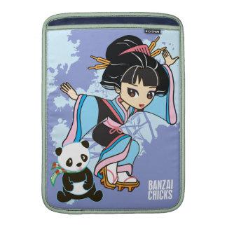 "Kawaii Izumi the Geisha Girl Chibi 13"" Mac Air MacBook Air Sleeve"