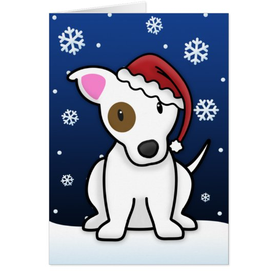 Kawaii Jack Russell Christmas Card