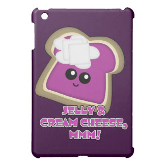 Kawaii Jelly and Cream Cheese Toast Cover For The iPad Mini