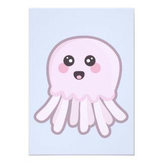 Kawaii Jellyfish Card