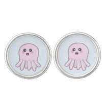 Kawaii Jellyfish Cufflinks