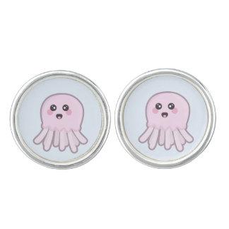 Kawaii Jellyfish Cufflinks