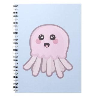 Kawaii Jellyfish Notebook