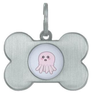 Kawaii Jellyfish Pet ID Tag