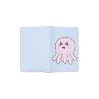 Kawaii Jellyfish Pocket Moleskine Notebook