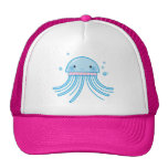 Kawaii jellyfish trucker hats