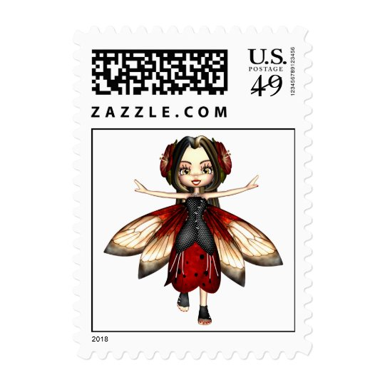Kawaii Juta Bug Fairy Postage