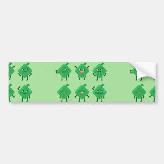 kawaii Ketupat Bumper Sticker