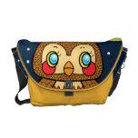 Kawaii kitsch vintage owl starry night bag commuter bags
