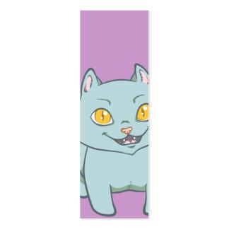 Kawaii Kitten Bookmark Mini Business Card