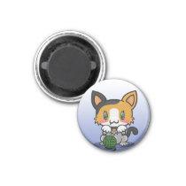 Kawaii Kitty (Calico) Magnet