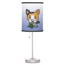 Kawaii Kitty (Calico) Table Lamp