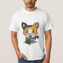 Kawaii Kitty (Calico) T-Shirt