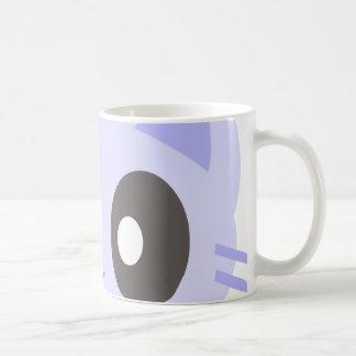 kawaii kitty closeup coffee mug