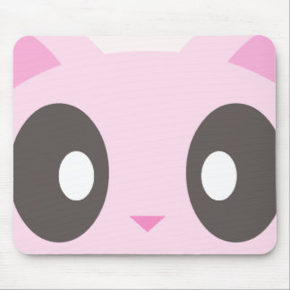 kawaii kitty closeup mouse pad