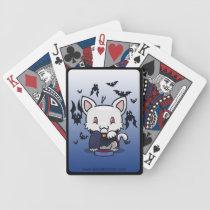 Kawaii Kitty (Dracula) Bicycle Playing Cards