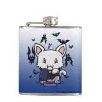 Kawaii Kitty (Dracula) Flask