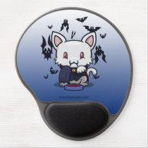 Kawaii Kitty (Dracula) Gel Mousepad