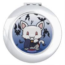 Kawaii Kitty (Dracula) Compact Mirror