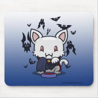 Kawaii Kitty (Dracula) Mousepads