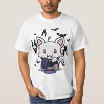 Kawaii Kitty (Dracula) T-Shirt
