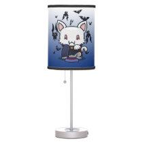 Kawaii Kitty (Dracula) Table Lamp