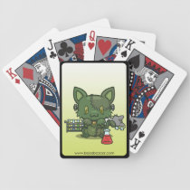 Kawaii Kitty (Frankenstein's Monster) Bicycle Playing Cards