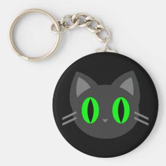 Kawaii Kitty Halloween Keychain