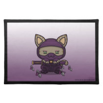 Kawaii Kitty (Kunoichi) Placemat