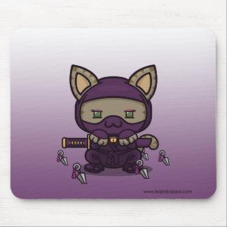 Kawaii Kitty (Kunoichi) Mousepads