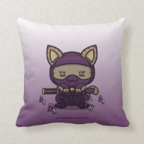 Kawaii Kitty (Kunoichi) Pillow