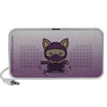 Kawaii Kitty (Kunoichi) Doodle Speaker