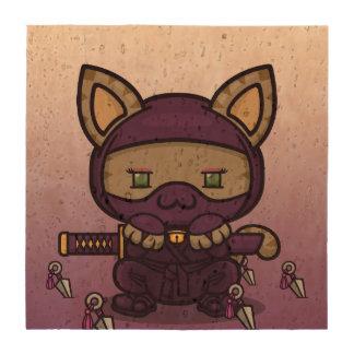 Kawaii Kitty (Kunoichi) Beverage Coaster