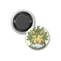Kawaii Kitty (Medusa) Magnet