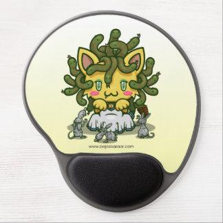 Kawaii Kitty (Medusa) Gel Mousepads