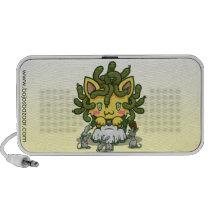 Kawaii Kitty (Medusa) Doodle Speaker