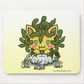Kawaii Kitty (Medusa) Mousepads