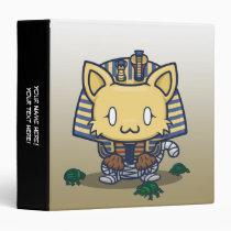 """Kawaii Kitty (Mummy) 1.5"""" Binder"""