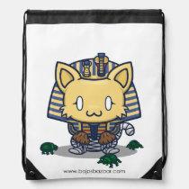 Kawaii Kitty (Mummy) Drawstring Backpack