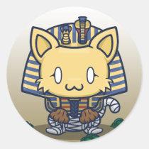 Kawaii Kitty (Mummy) Sticker Sheet