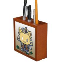 Kawaii Kitty (Mummy) Desk Organizer