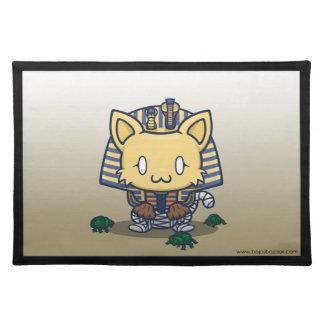 Kawaii Kitty Mummy Place Mats