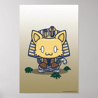 Kawaii Kitty (Mummy) Poster