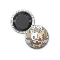 Kawaii Kitty (Phantom of the Opera) Magnet